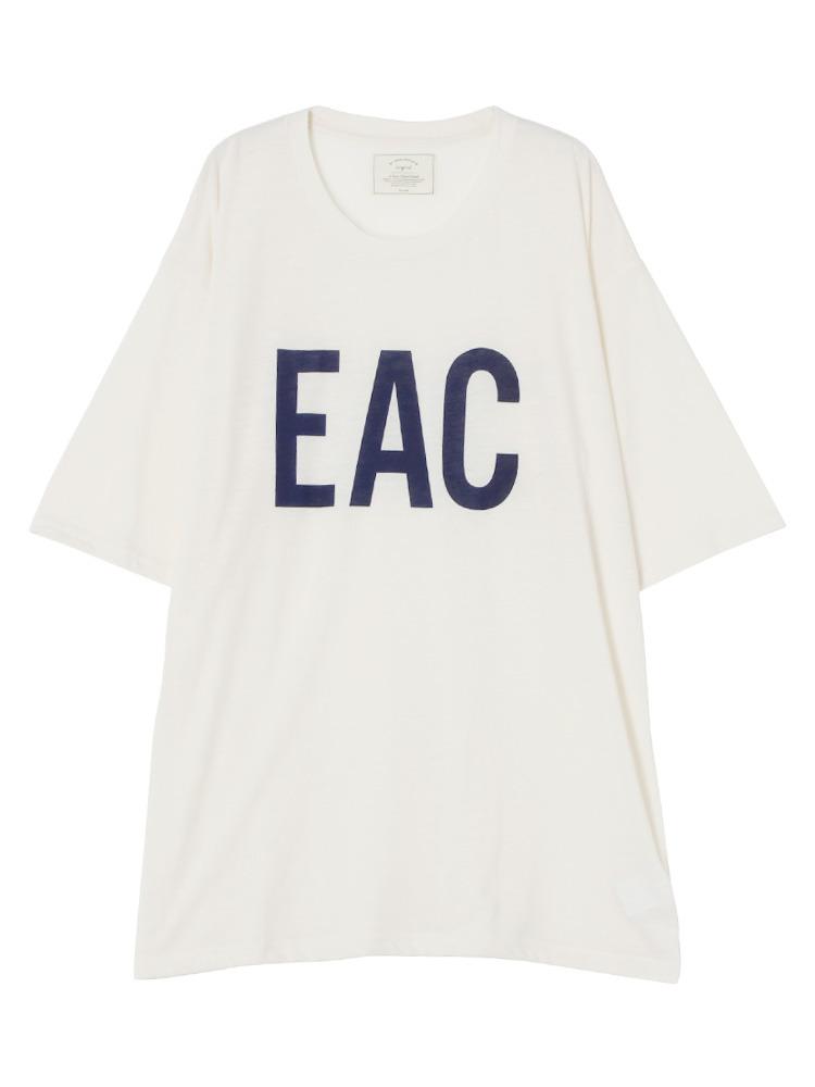 EACプリントBIG Tee(オフホワイト-F)