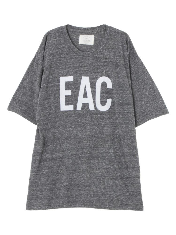 EACプリントBIG Tee(チャコールグレー-F)