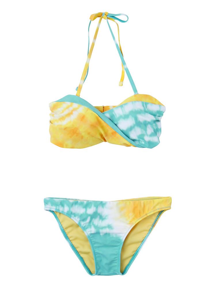 Tie-Dye swim wear(ブルー-F)