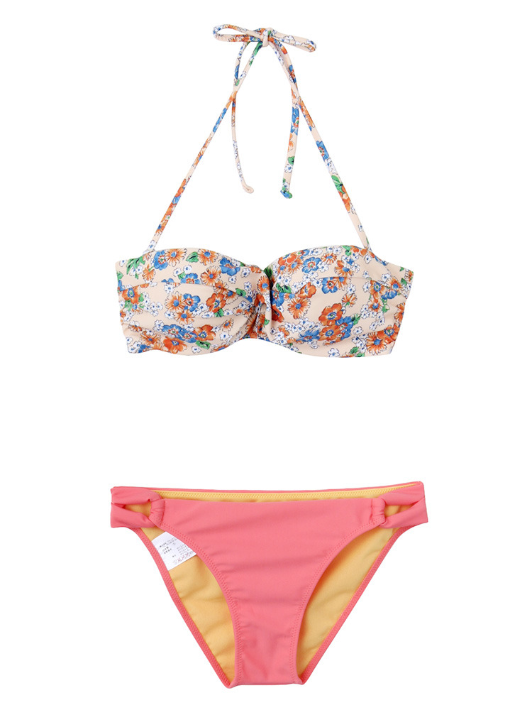 Linda swim wear(オレンジ-F)