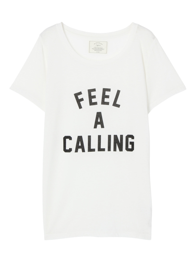 FEEL A CALLING Tee(オフホワイト-F)