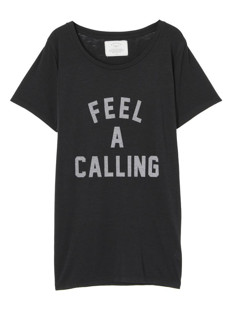 FEEL A CALLING Tee(ブラック-F)