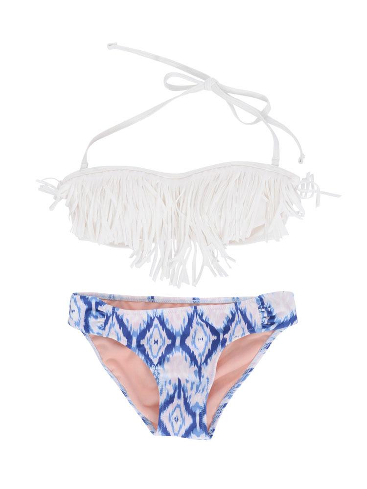 Cara swim wear(ホワイト-F)