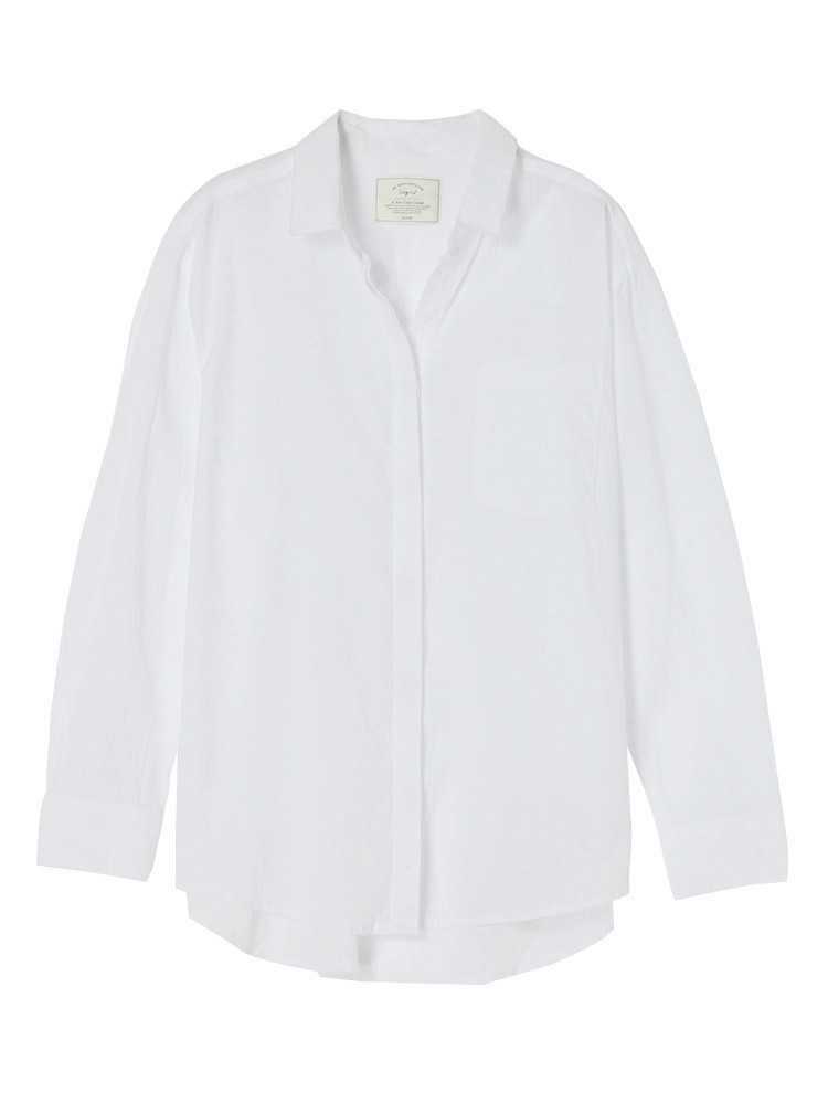 Ungrid(アングリッド) ウォッシュルーズシャツ