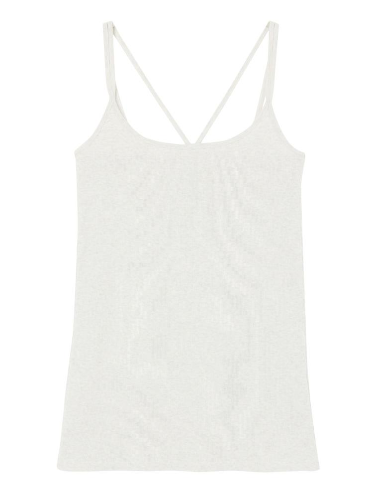 BASICキャミソール(オフホワイト-F)