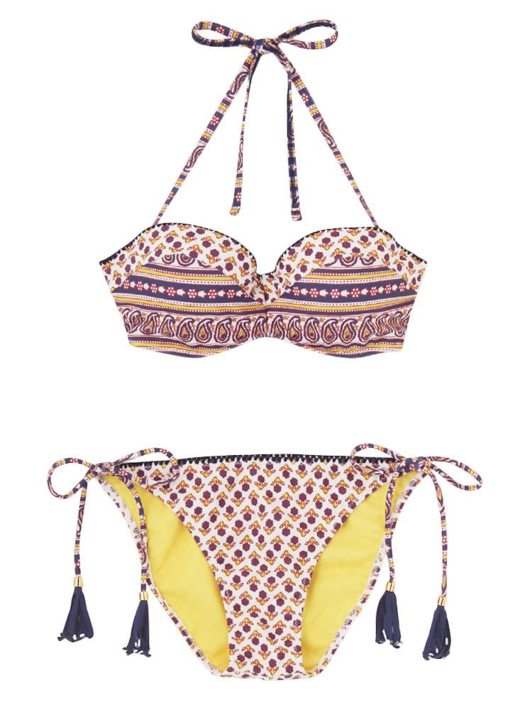 Sarasa Swim wear(ブルー-F)