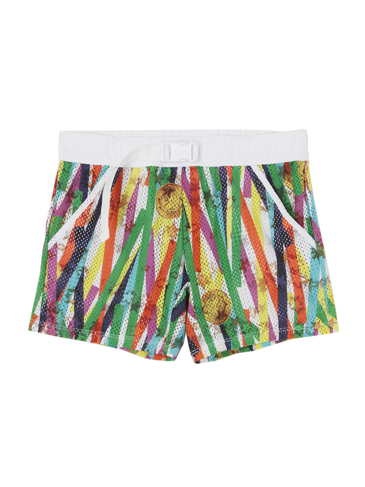 【GUACAMOLE】MEDARIBBON MENS SHORTS(ミックス-S)