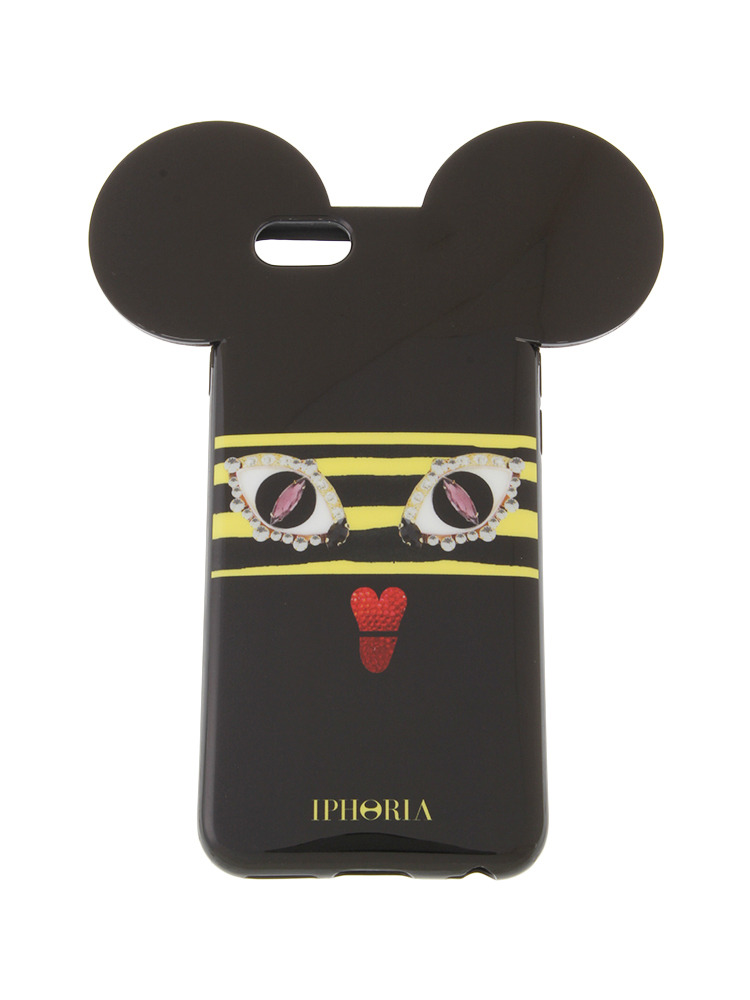 【iPhone 6 / 6s対応】【IPHORIA】ANGRY BEE(ブラック-F)