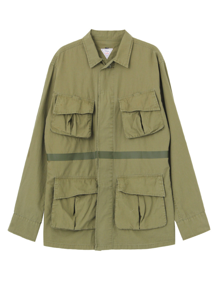 【YUGE】HALLEY STEVENSON ARMY JACKET(カーキ-38)