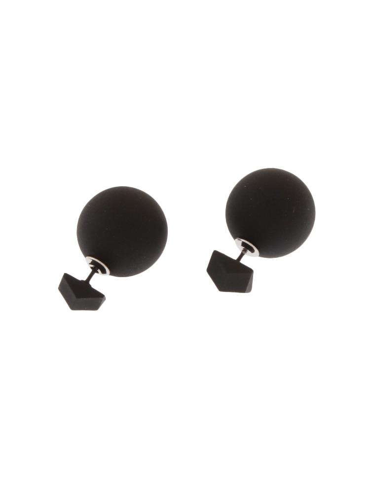 PENTAGON EARRING(ブラック-F)