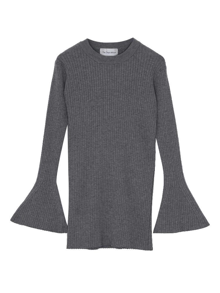 The Dayz tokyo FLARE SLEEVE KNIT