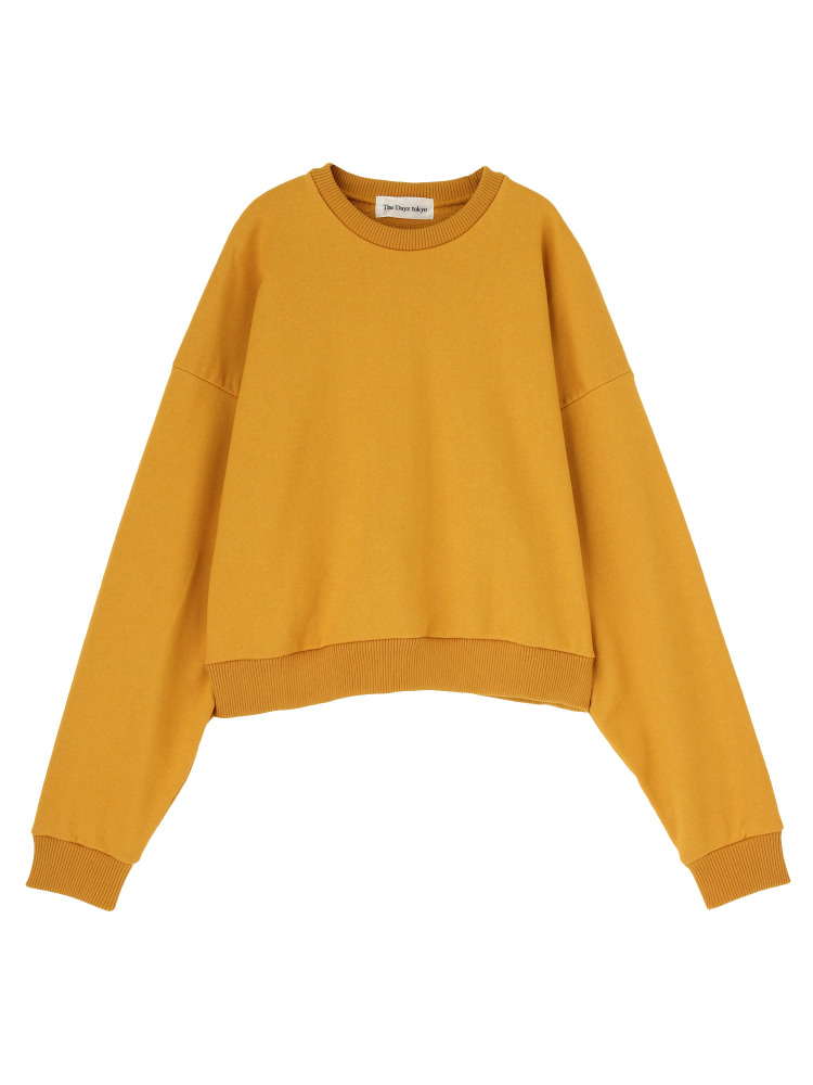 VOLUME SLEEVE PULLOVER(マスタード-F)