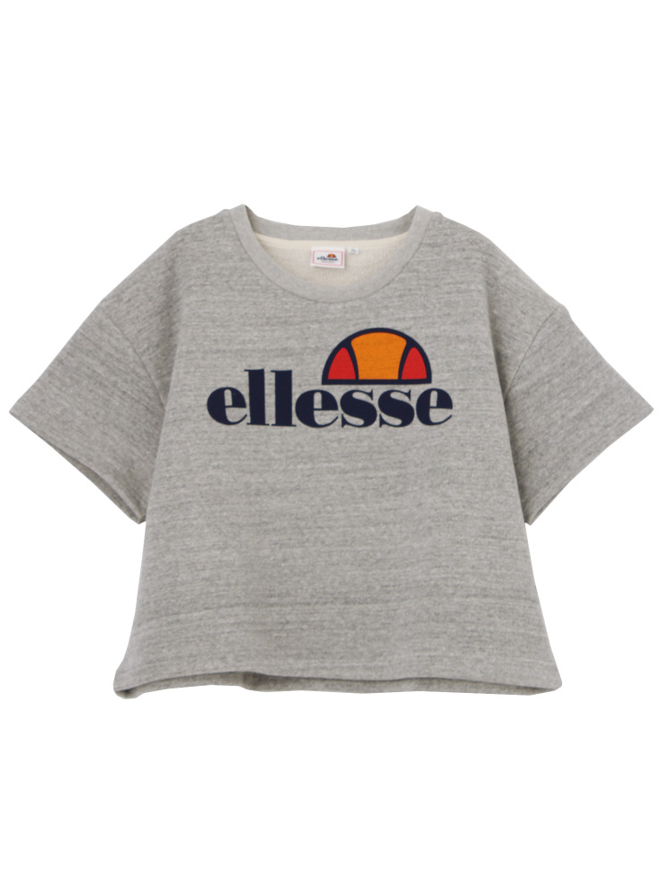 【ellesse】LOGO SWEAT(グレー-M)
