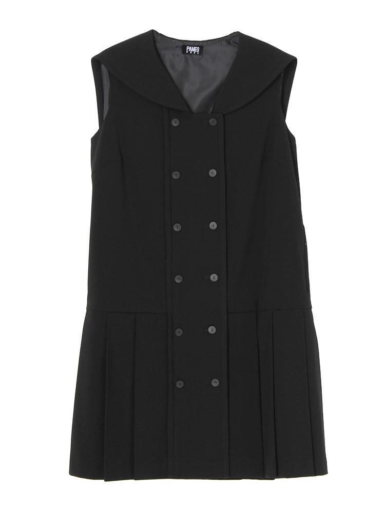 SAILOR DRESS(ブラック-F)