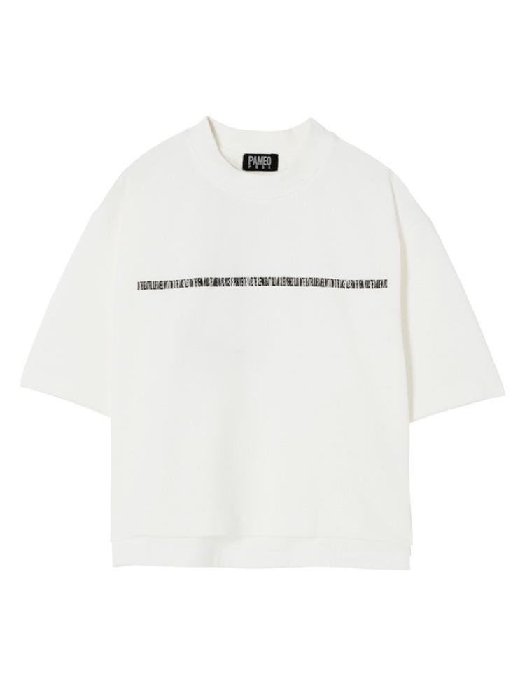 【表参道店オリジナル】MASTERPIECE T-SHIRT(ホワイト-F)