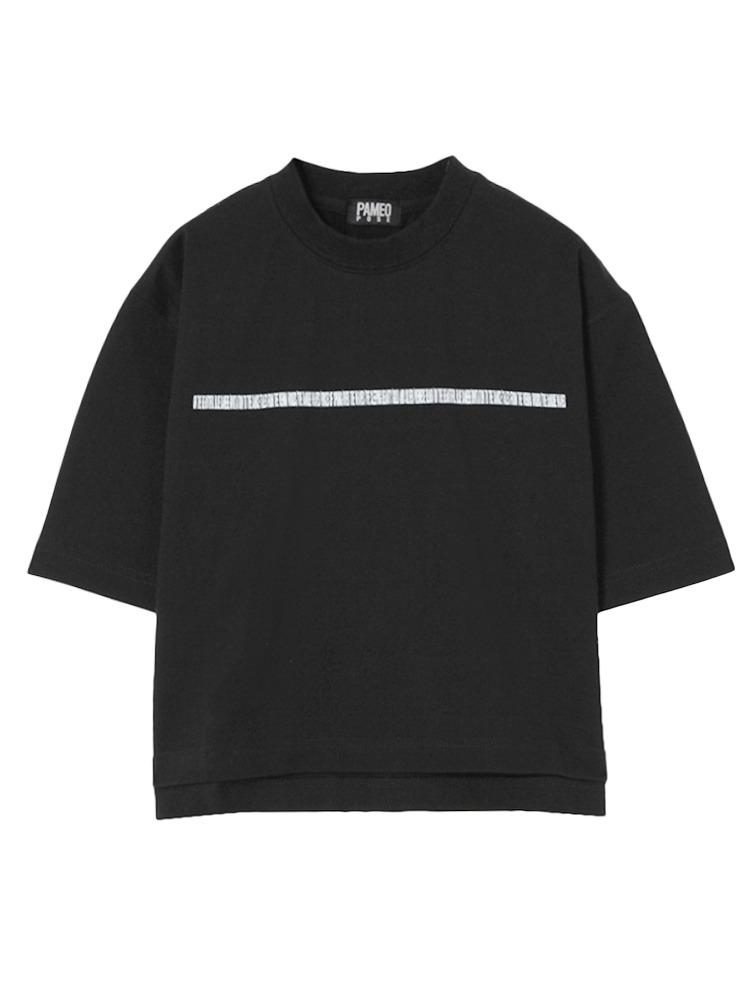 【表参道店オリジナル】MASTERPIECE T-SHIRT(ブラック-F)