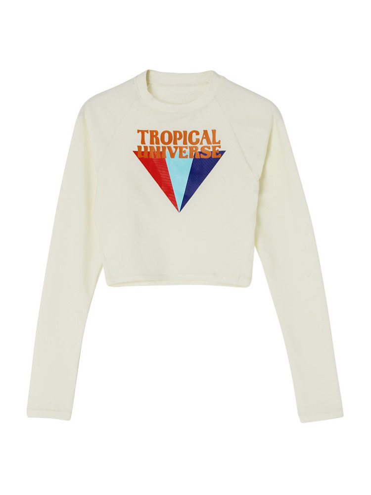 TROPICAL UNIVERSE RASH GUARD
