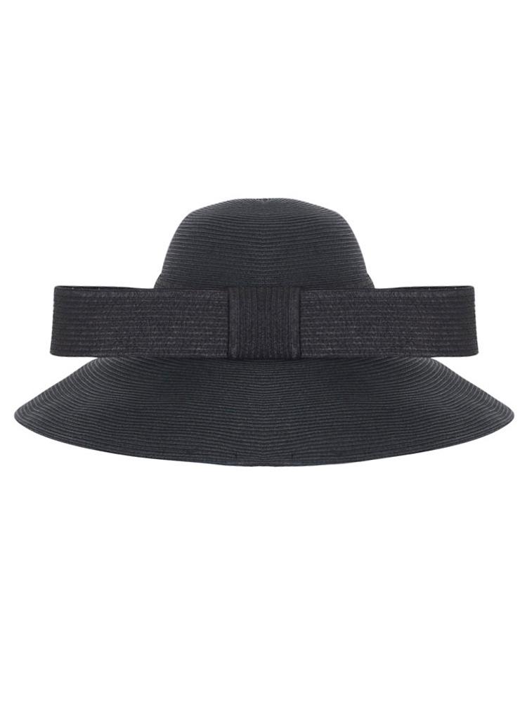 【6月中旬配送予定】LONG BOW HAT(ブラック-F)