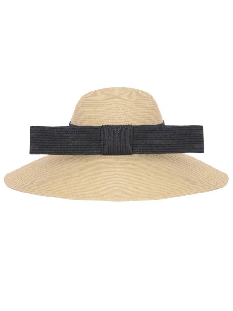 【6月中旬配送予定】LONG BOW HAT(ベージュ-F)