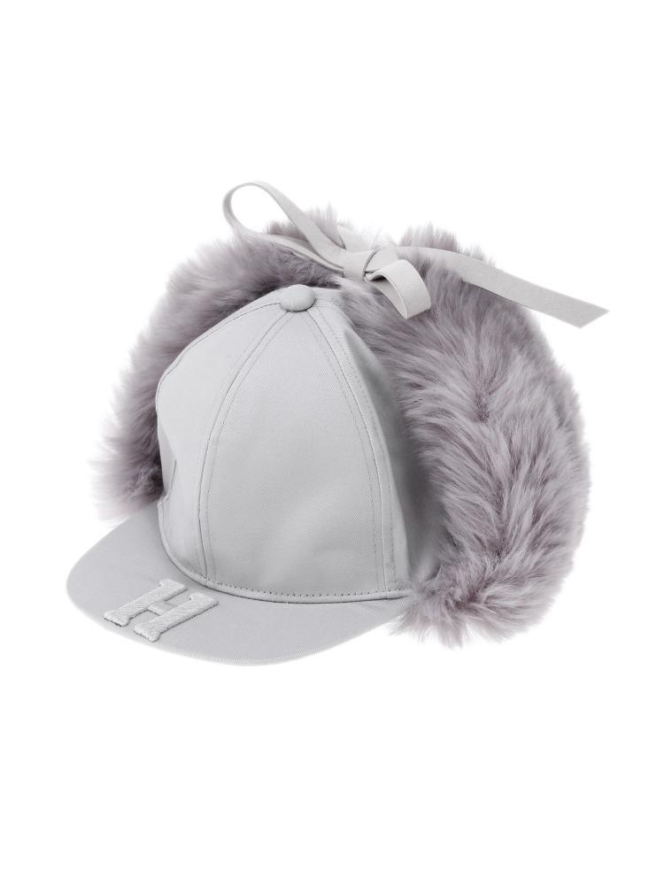 【9月下旬配送予定】HYPNOS EAR WING CAP(グレー-F)