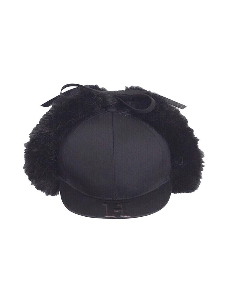 【9月下旬配送予定】HYPNOS EAR WING CAP(ブラック-F)