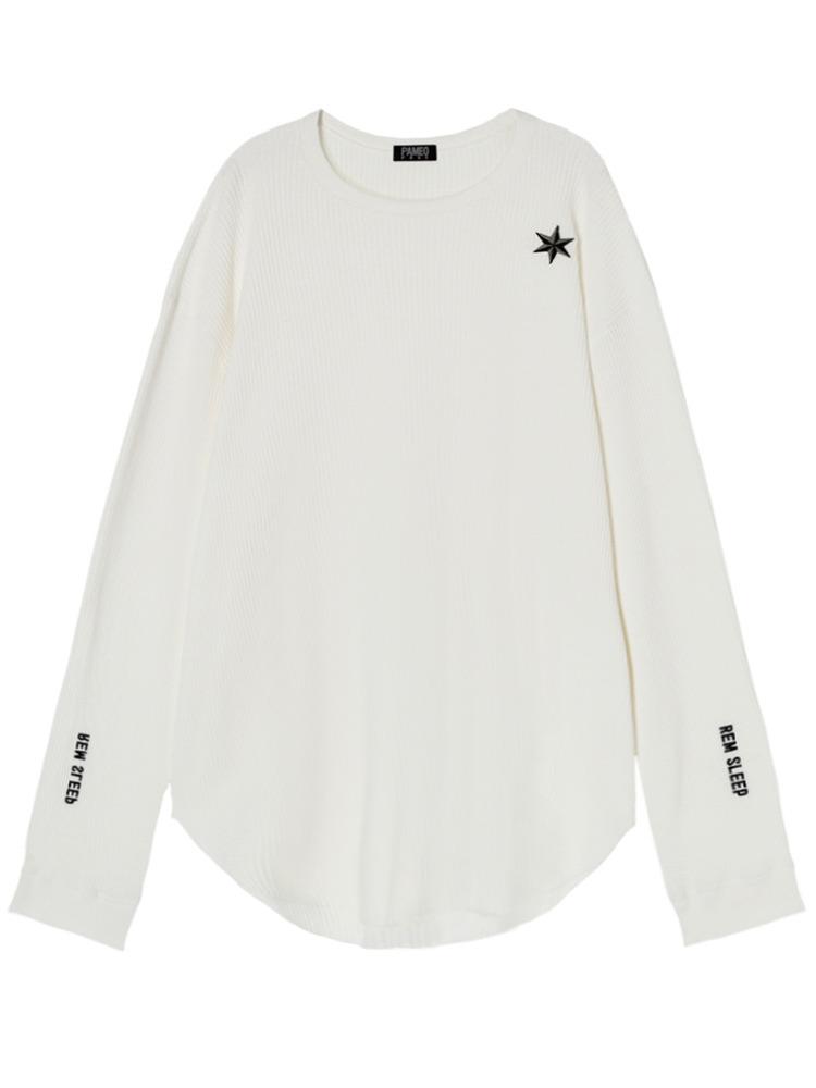 【伊勢丹先行販売】REM SLEEP LONG T-SHIRT(ホワイト-F)