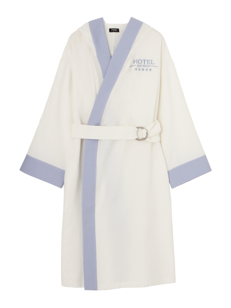 HOTEL PARAISO BATHROBE COAT(ホワイト-F)
