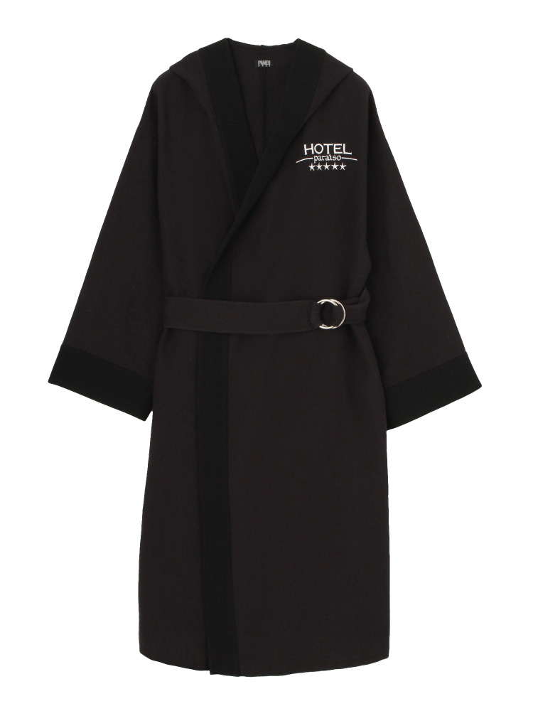 HOTEL PARAISO BATHROBE COAT(ネイビー-F)