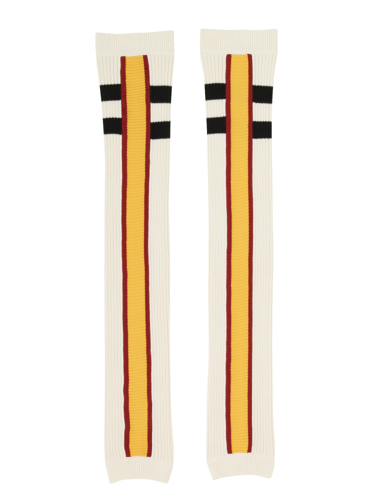BARCELONA TEAM LEGWARMERS WHITE(イエロー-F)