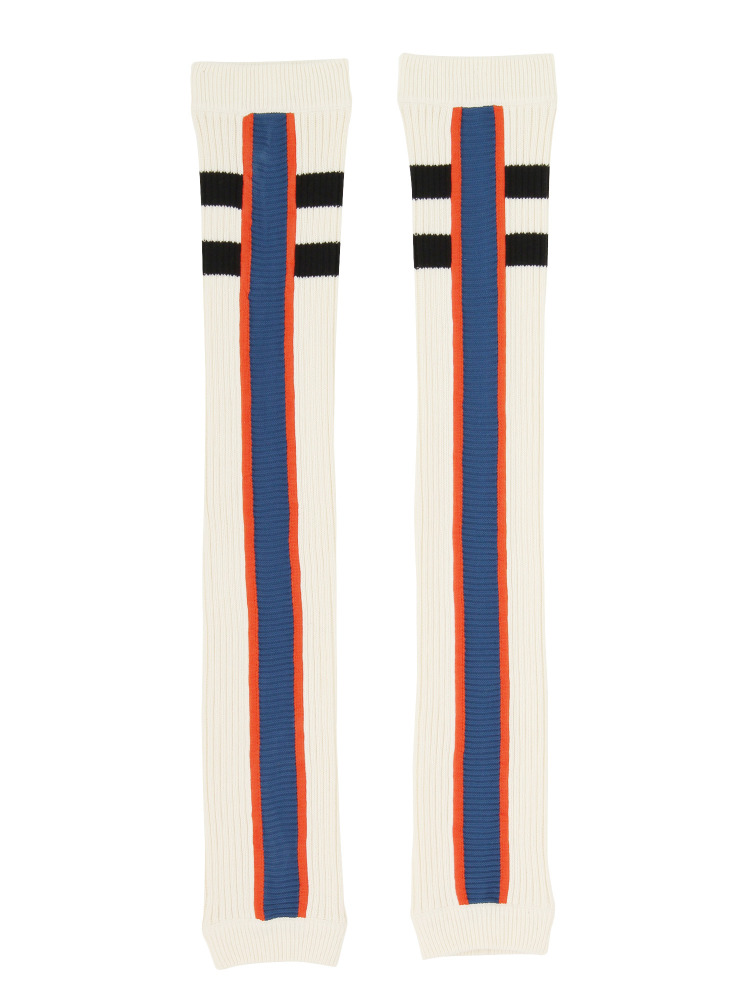 【1月中~下旬配送予定】BARCELONA TEAM LEGWARMERS WHITE(ブルー-F)