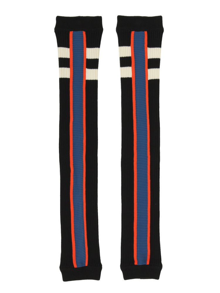 【1月中~下旬配送予定】BARCELONA TEAM LEGWARMERS BLACK(ブルー-F)