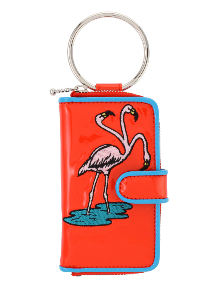 FLAMINGO IPHONE CASE(レッド-F)
