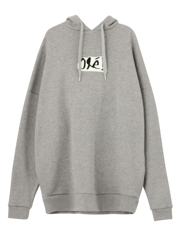 OLE! PULLOVER HOODIE(グレー-F)