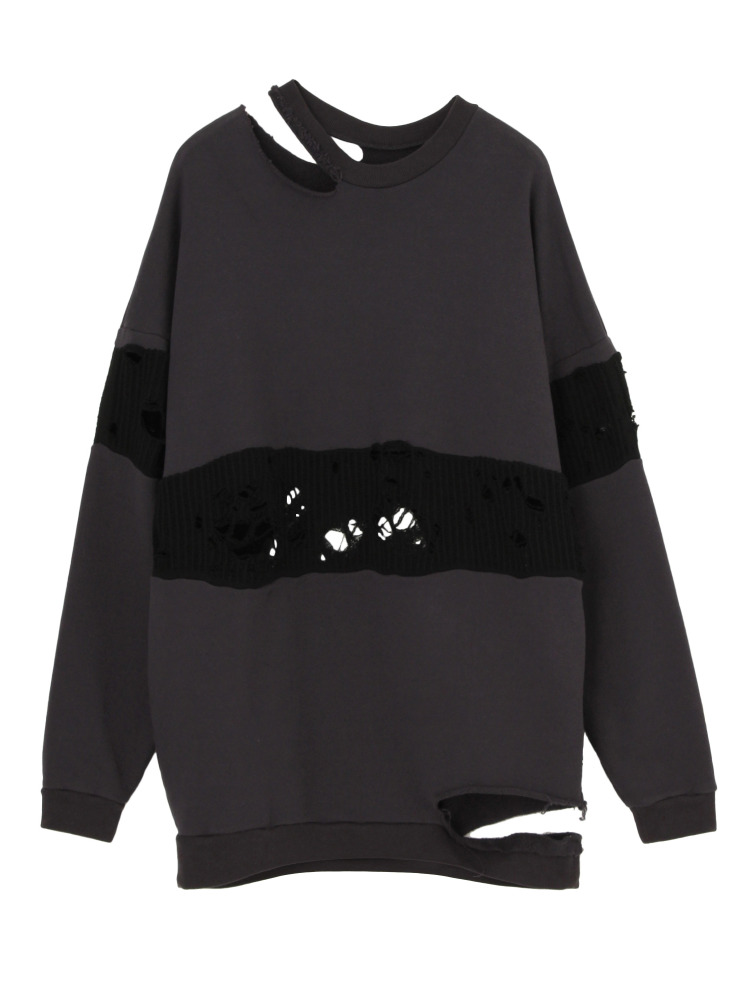 CANIS SWEAT PULLOVER(グレー-F)