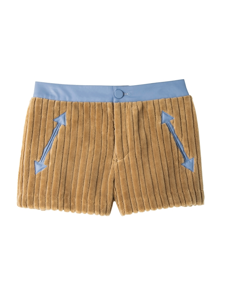 【秋新作】ONI CORDUROY SHORT PANTS(ベージュ-S)
