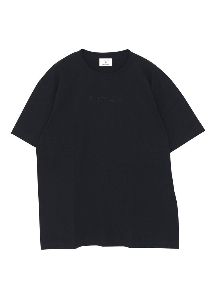 【高橋愛コラボ】Iam_.Tシャツ(ブラック-F)