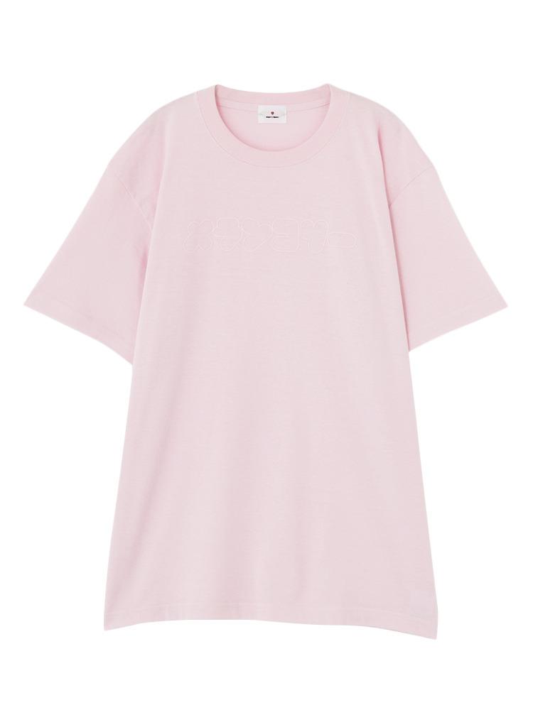 メランコリーTシャツ(ピンク-F)