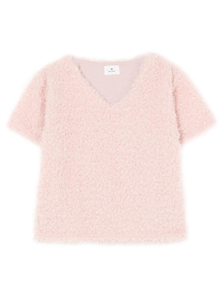 ふわふわTOPS(ピンク-F)