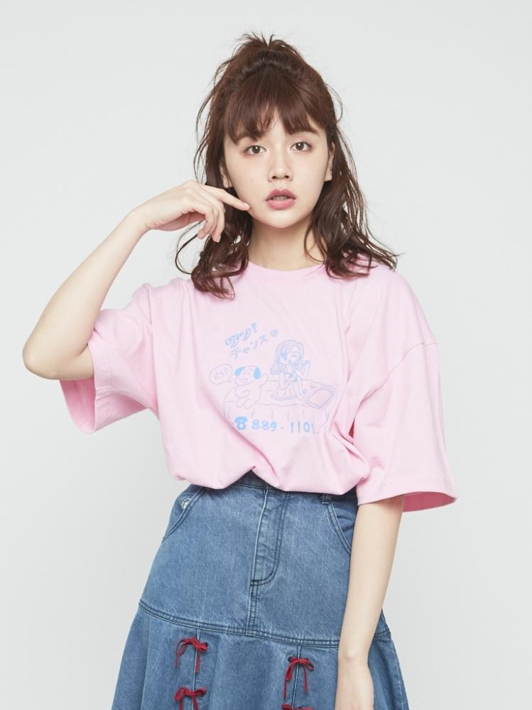 りかちゃんコラボTシャツ
