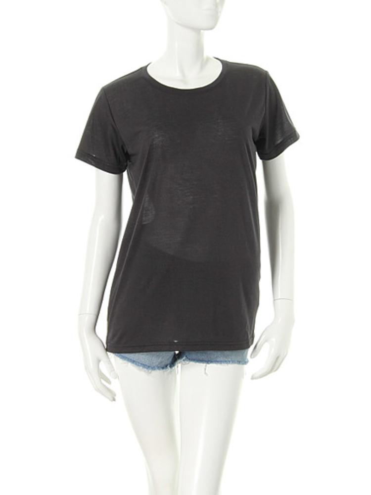 【elianegigi】BASIC Tシャツ(ブラック-F)