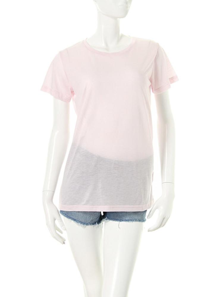 【elianegigi】BASIC Tシャツ(ピンク-F)