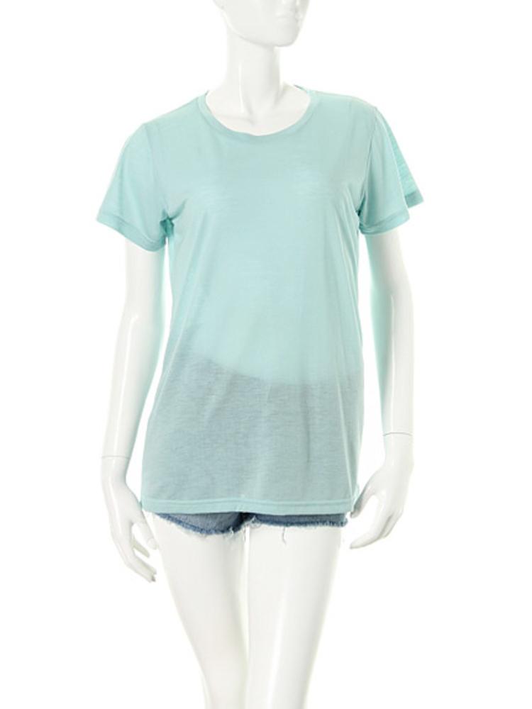 【elianegigi】BASIC Tシャツ(アイスブルー-F)