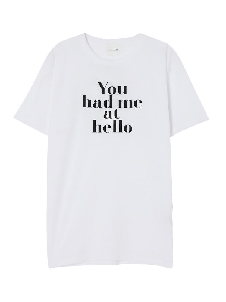You had me Tシャツ(ホワイト-S)