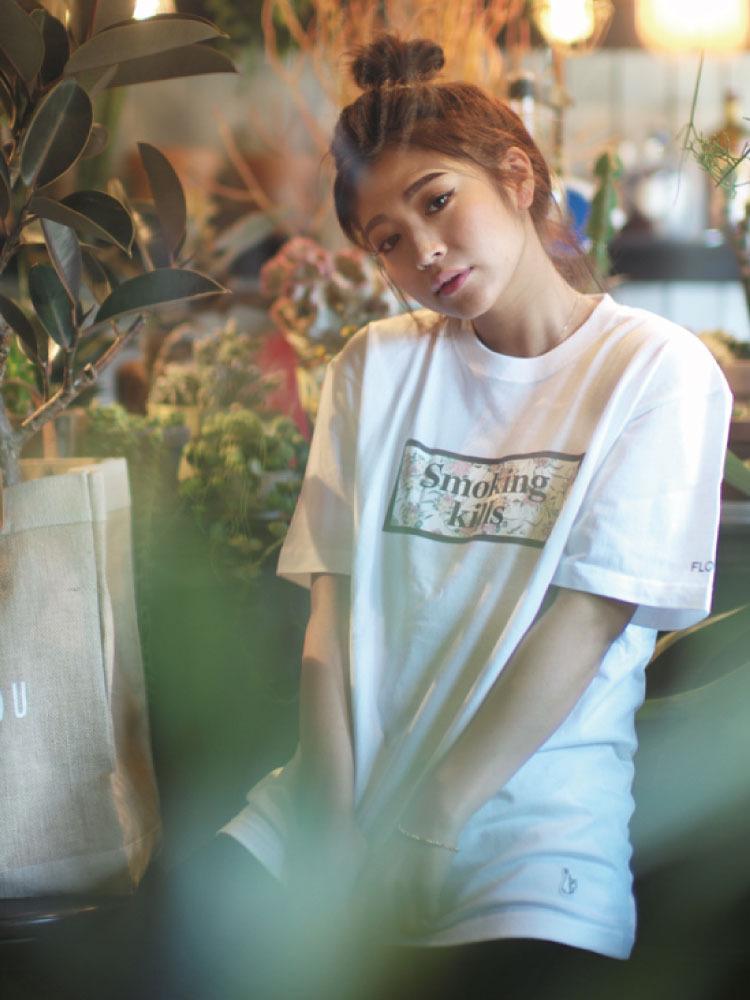 【FR2×FLOVE】SMOKINGKILLSTシャツ