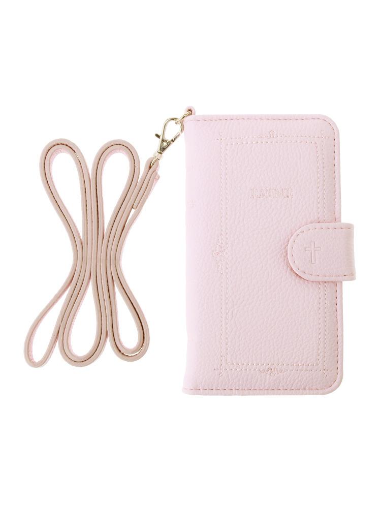 <<6/7対応>>book motif iphone6/6S/7 case(ピンク-F)