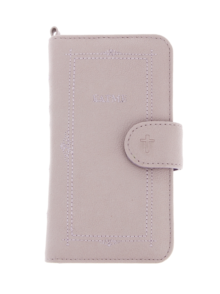 book motif smart phone case(ラベンダー-F)