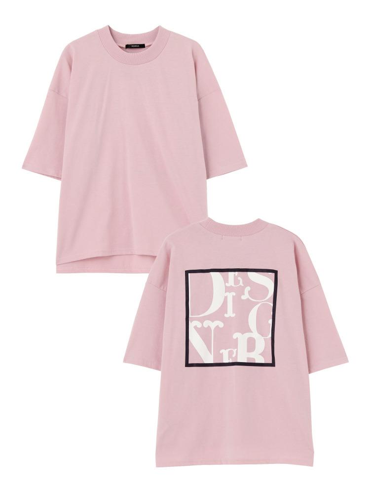 MURUAのBACKロゴTシャツ