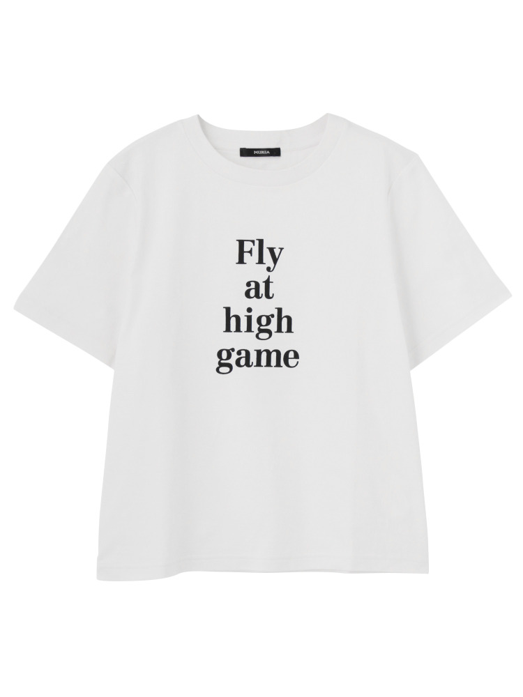 MURUAのMinimal logotype Tシャツ