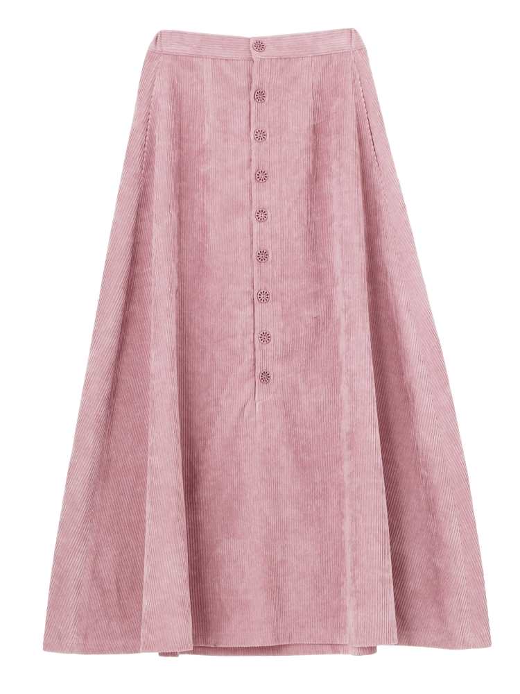 merry jennyのコーデュロイフレアスカート